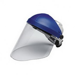 3M™ WP96 Faceshield Visor, 9 in H x 14-1/2 in W, Clear, Polycarbonate